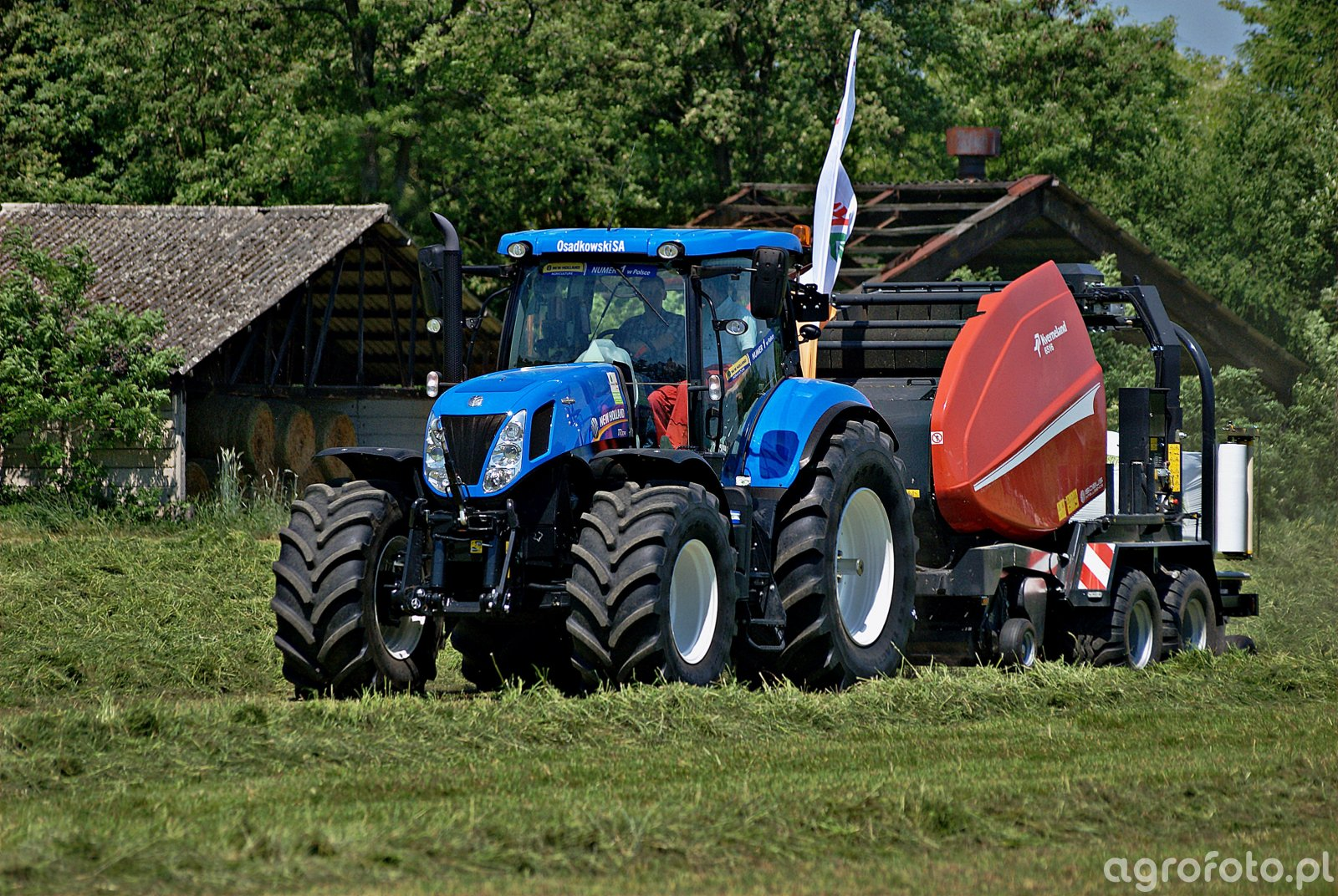 New Holland T7.270 + Kverneland 6516