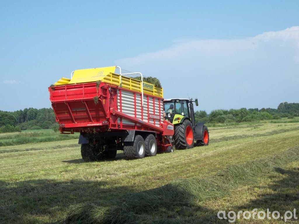 Pottinger Europrofi 4000D & Claas Arion 430