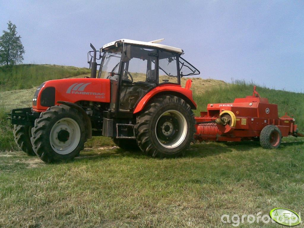 Farmtrac 675DT + Famarol