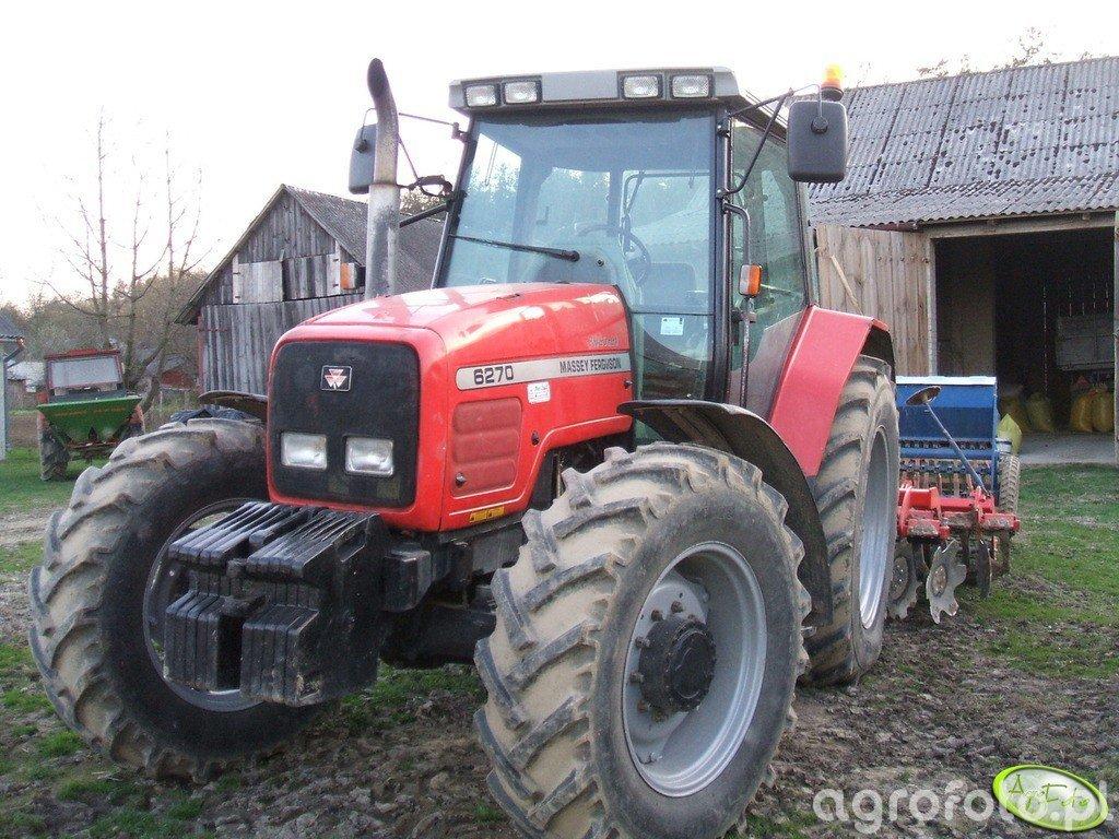 Massey Ferguson 6270 + Grano System 3m + Poznaniak 6