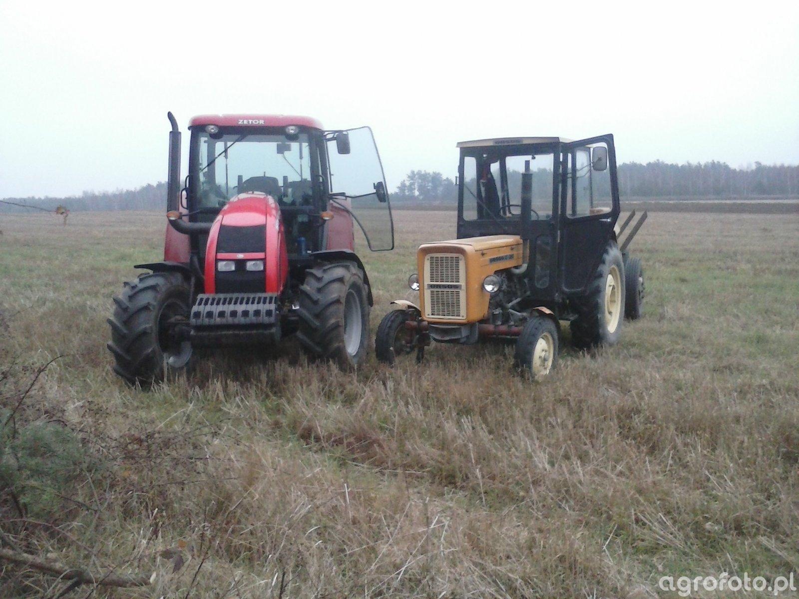 Zetor Forterra 11441 & Ursus C360