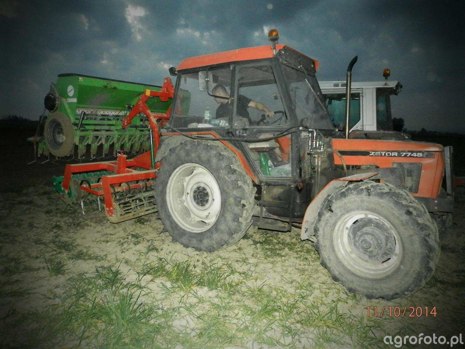 Zetor 7745 + Agromasz AS30 + Famarol słupsk