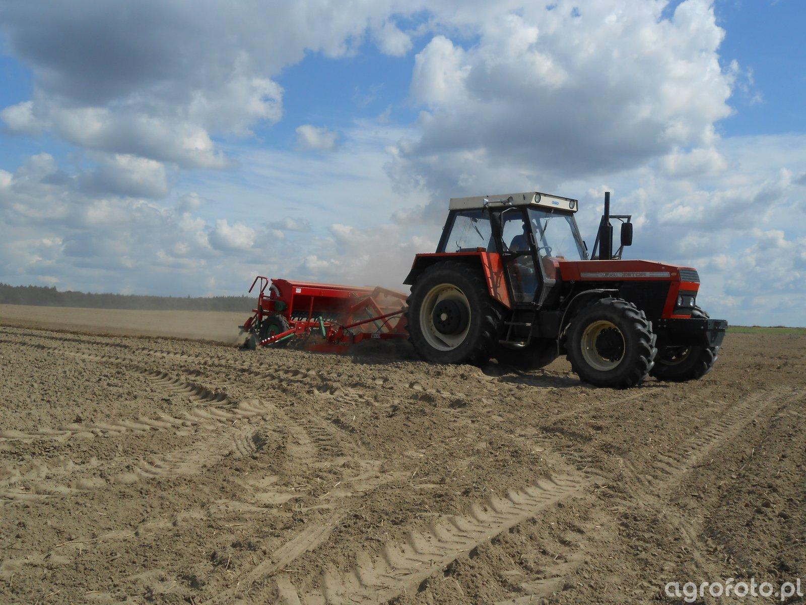 Zetor 16145 & Unia Ares L/S & Polonez