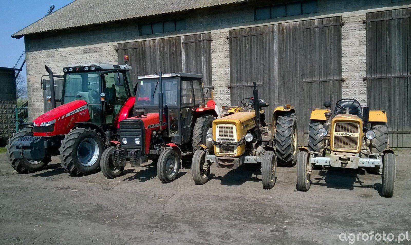 Massey Ferguson 5410 & Ursus 3512 & Ursus C-360 & Ursus C-330