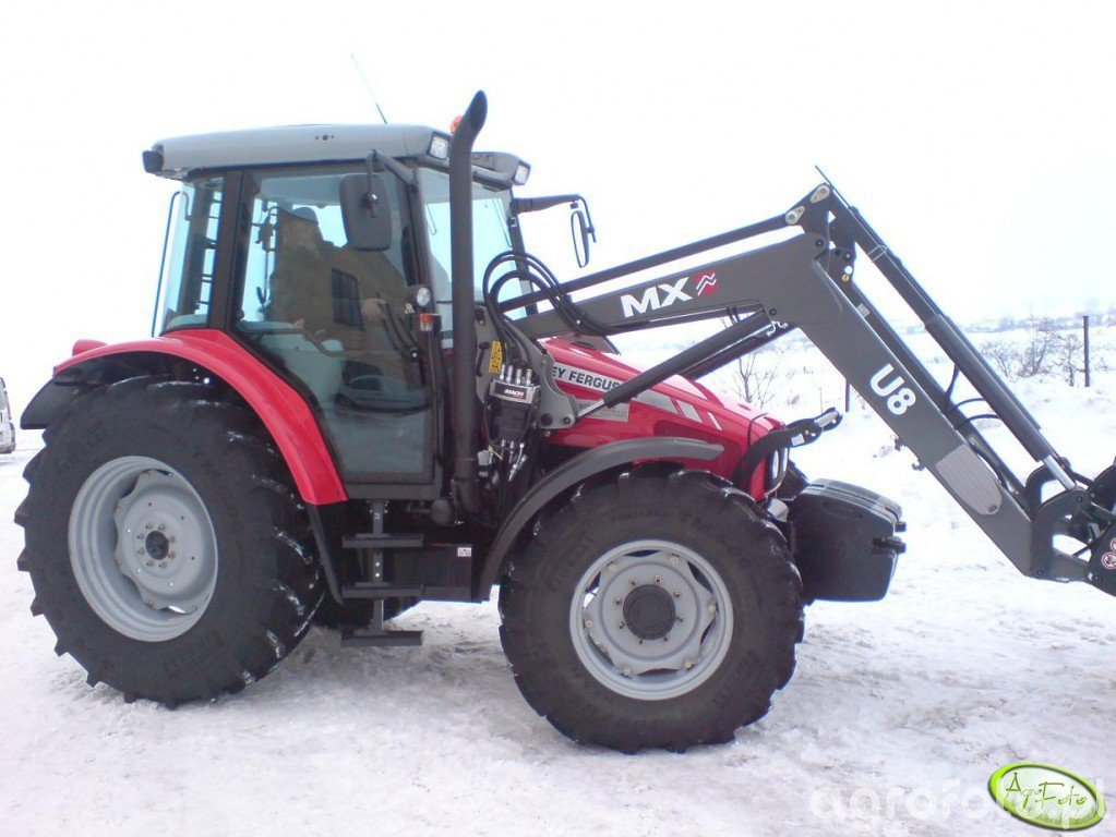 MF 5435 + MX U8