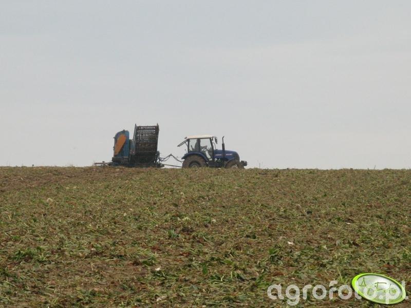 Farmtrac 80 4WD + Schmotzer