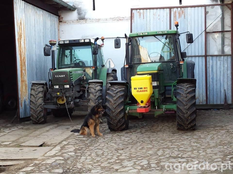 John Deere 6610 & Fendt Farmer 312