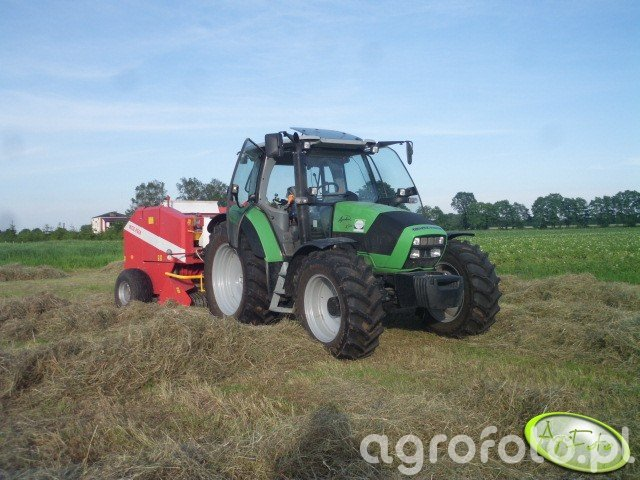 Deutz Fahr Agrotron K410 + Metal fach Z-562 R