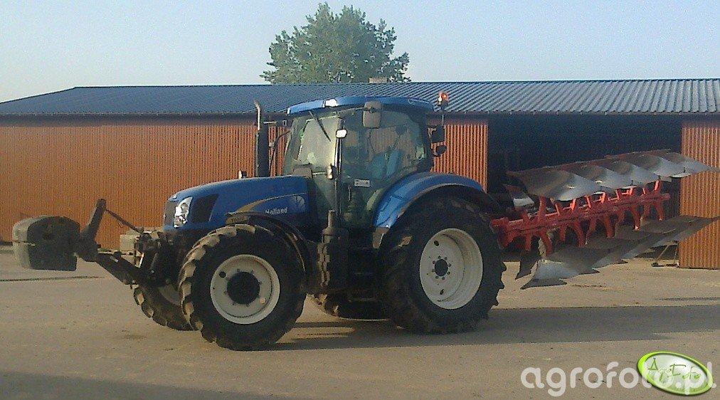 New Holland T6080 & Kuhn vari-master 153