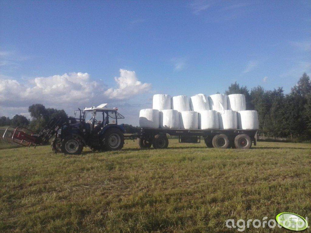 Farmtrac 675DT + Laweta