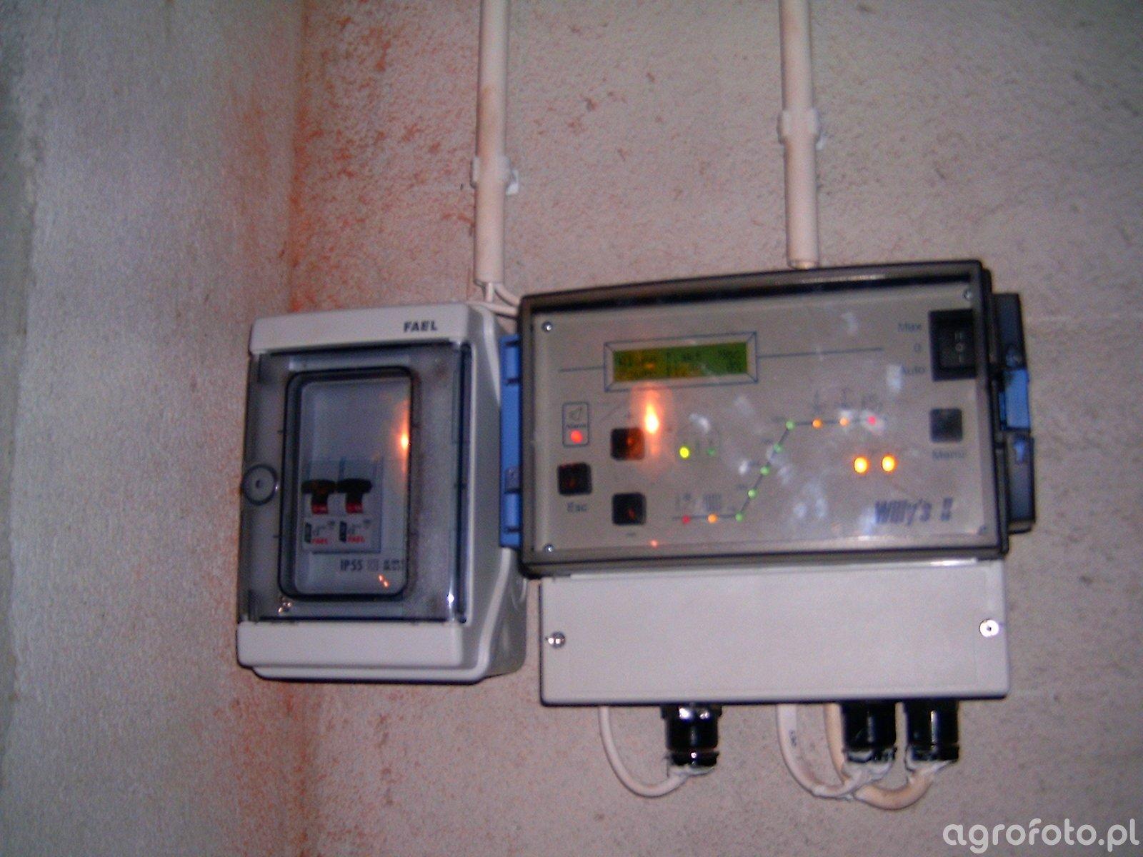 Komputer regulujący temperaturę