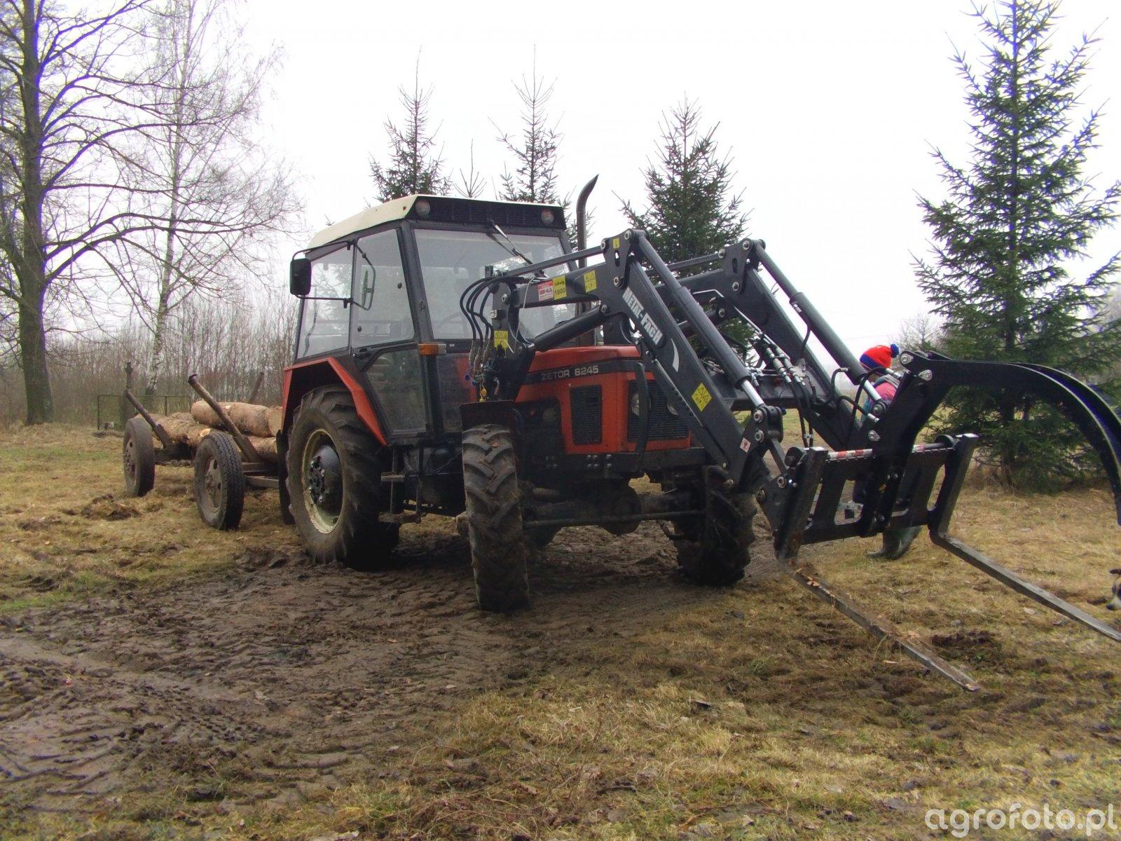 Zetor 6245 + Metal-fach T-229