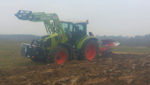 Claas Arion 450 & unia ibis ls 3+1