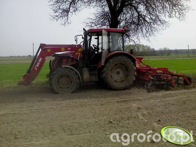 Farmer 9258 te + Brodnica U-644\TS 2.7 m