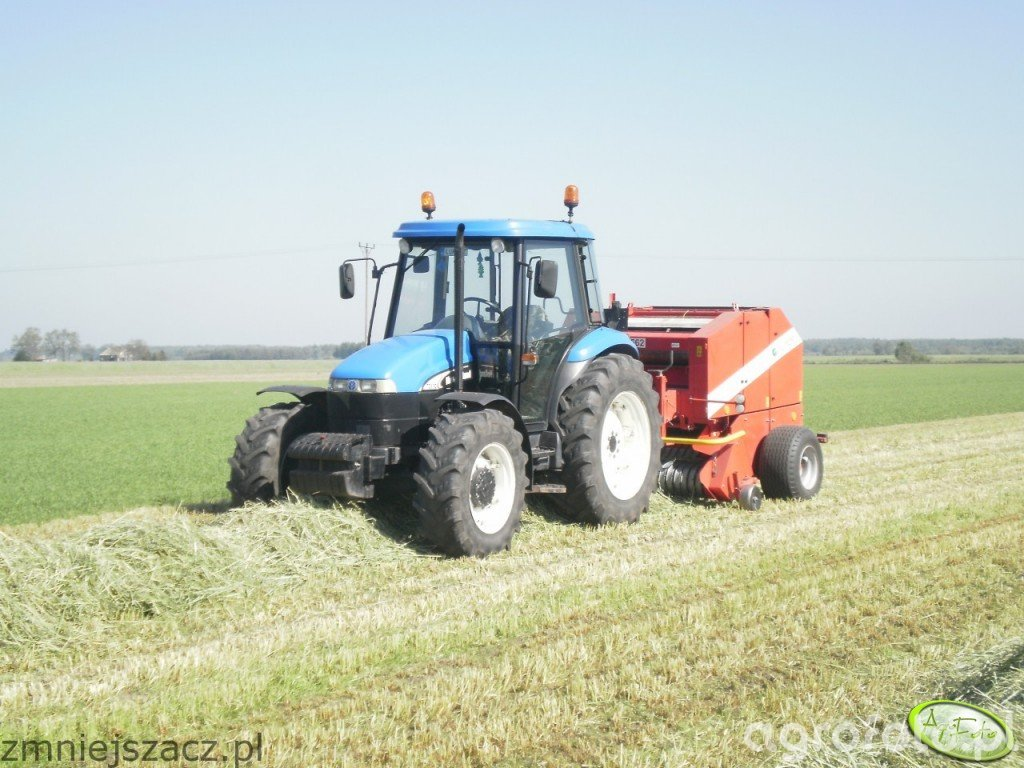 New Holland TD85D + Metal Fach Z562