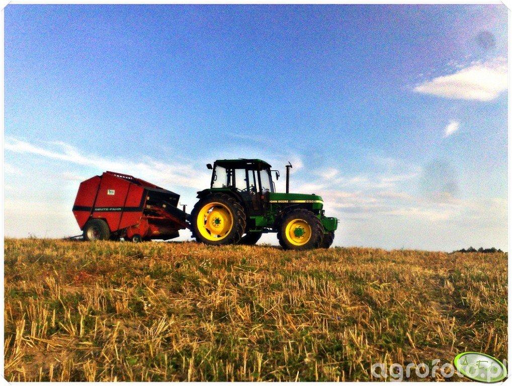 John Deere 2850 & Deutz-Fahr GP510