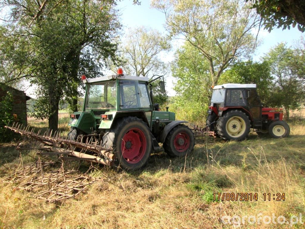 Fendt Farmer 306 LSA i brony + Zetor 7711 i brony