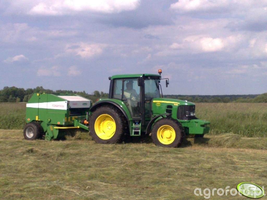 John Deere 6130 + Sipma Farma II