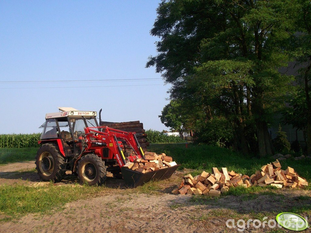 Zetor 7745 & Inter Tech iT1600 + Szufla