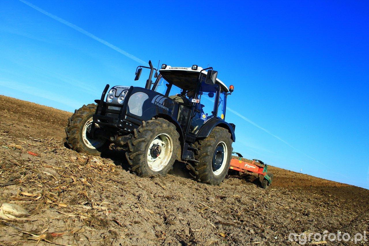 Farmtrac 690 DT & Kverneland AB 100