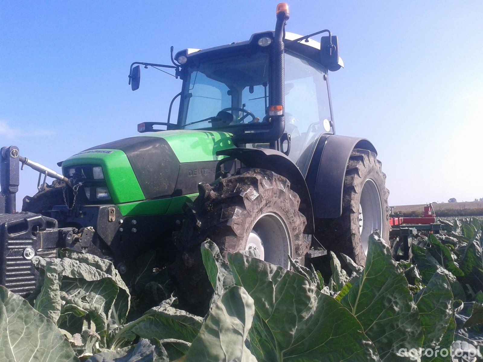 DF Agrofarm 430 profiline + UNIA cut 2,8