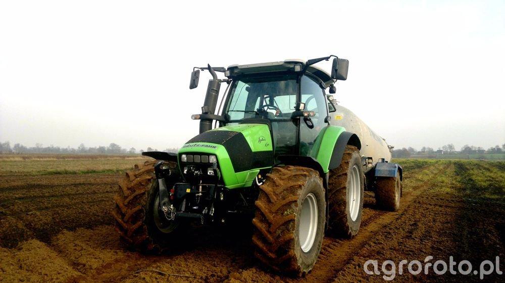 Deutz-Fahr Agrotron K420 & Meprozet 8500L