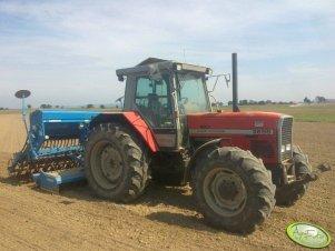 MF 3655 & Lemken DKA 3000