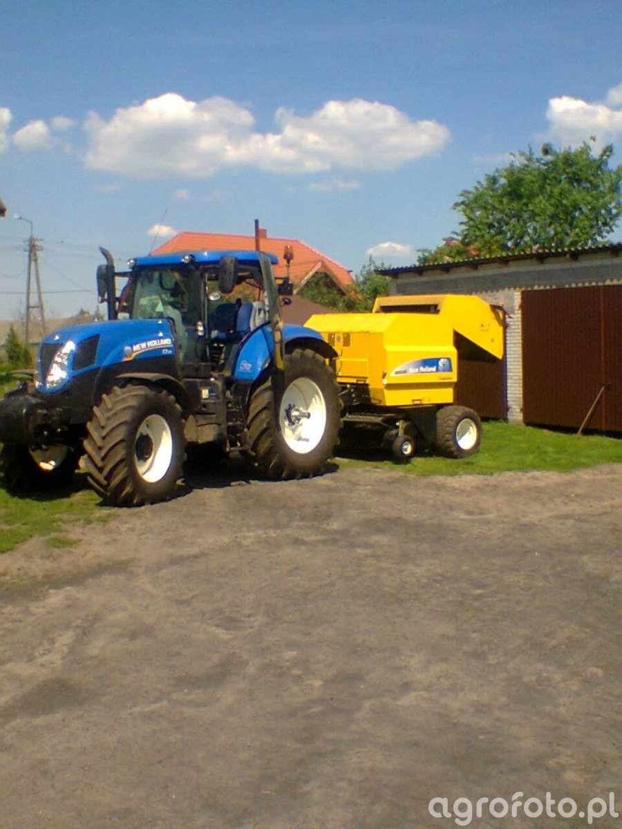 New Holland t7.170 + BR6090