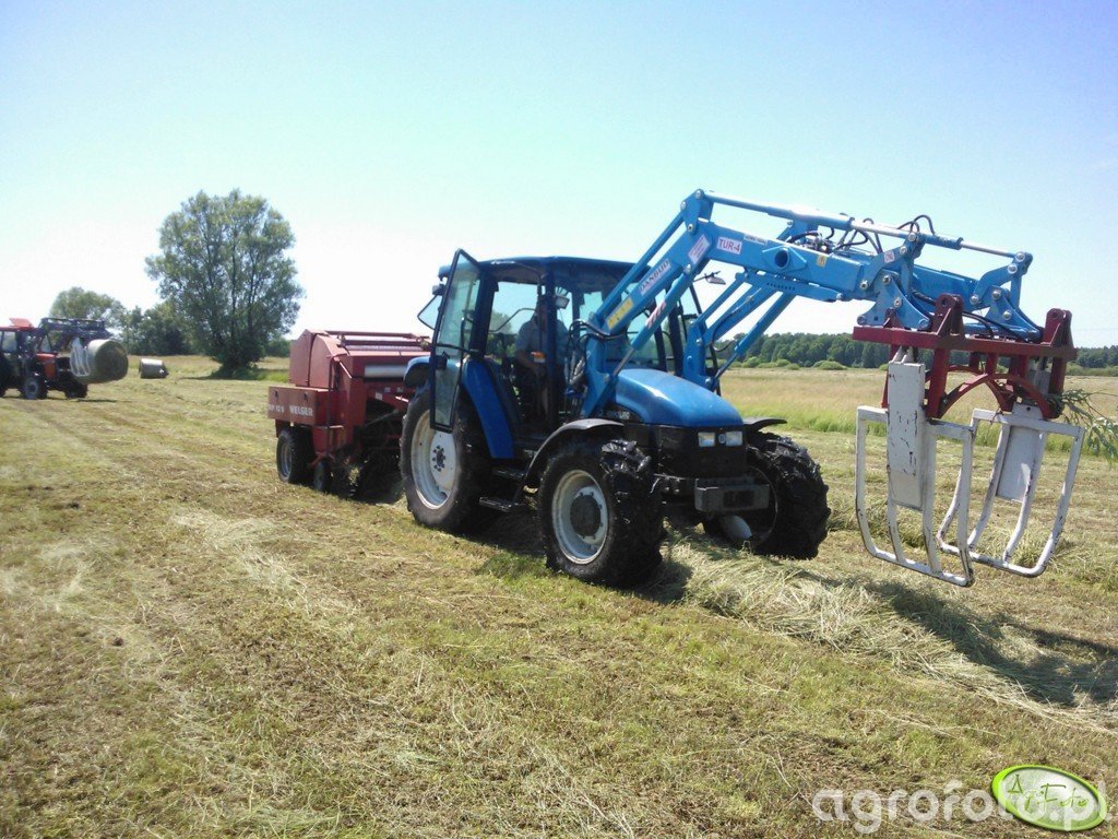 New Holland TL 80 + RP 12 s