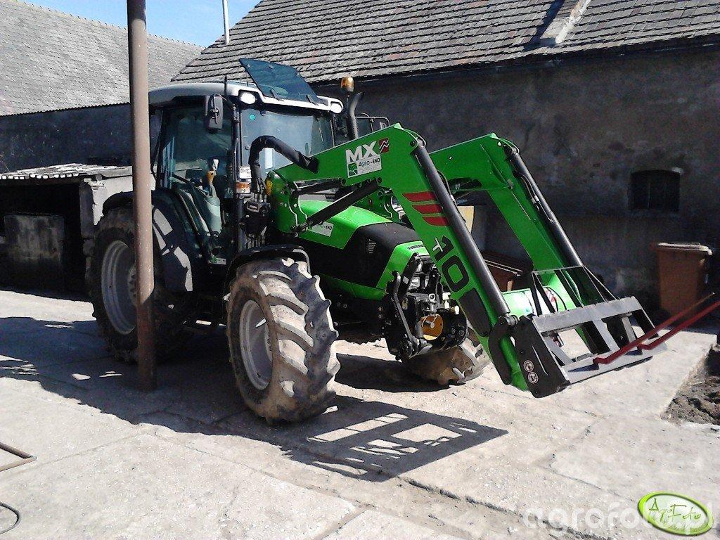 Deutz Fahr Agrofarm 420 Profiline + MX T 10