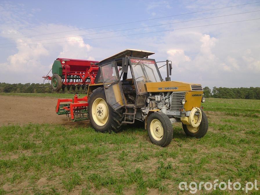Ursus 902 & agro-masz & poznaniak