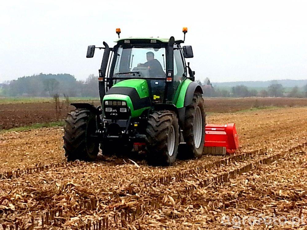 Deutz-Fahr Agrotron 150 & Maschio Gaspardo TORNADO