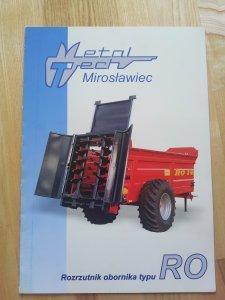 MetalTech RO mirosławiec- rozrzutnik