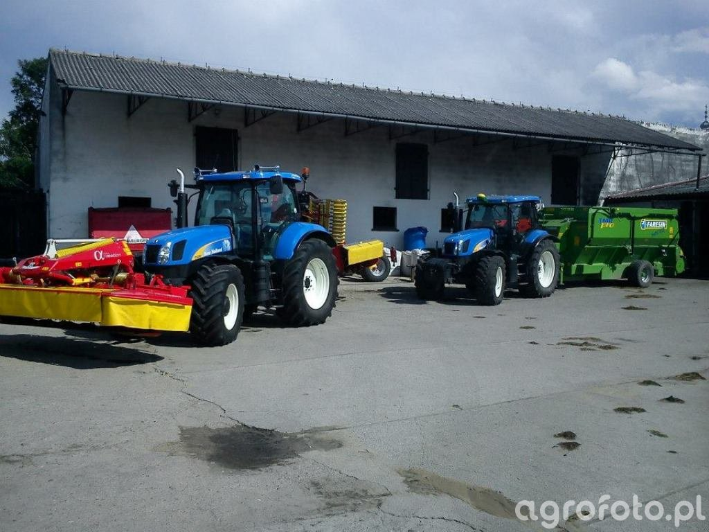 New Holland T6080 PC -  TS 115a