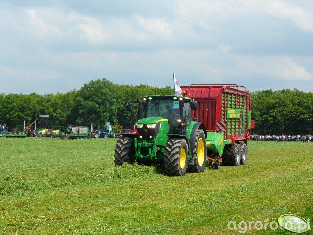 John Deere 6210R + Strautmann Giga Vitesse CFS 3501 DO