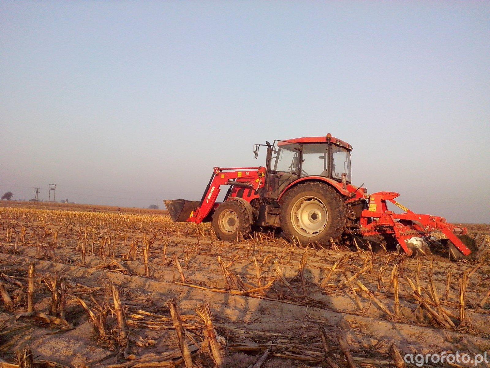 Farmer 9258 TE + Brodnica U-644/TS