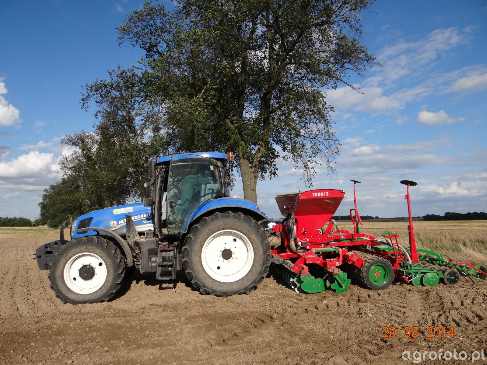 New Holland T6 165 & Focus 3/1000 T Drive