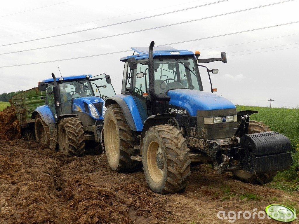New Holland TM125 & New Holland T6080