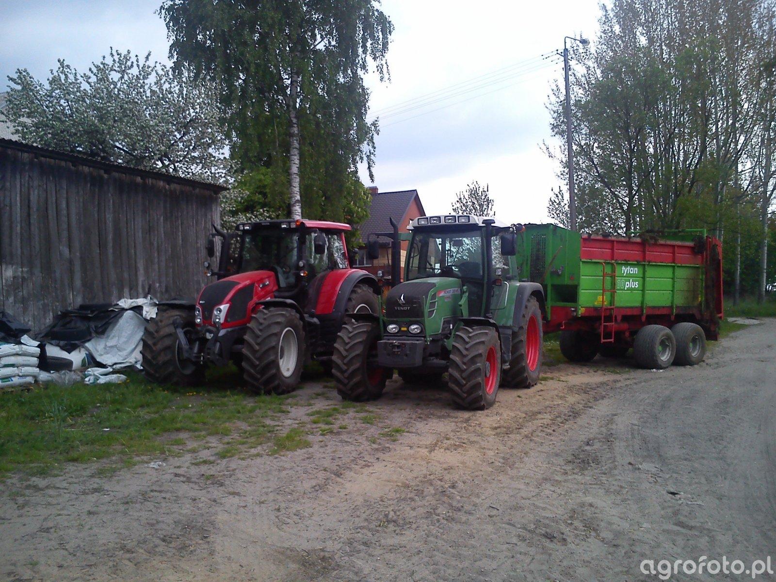 Fendt 309 Vario TMS & Valtra n123 Versu