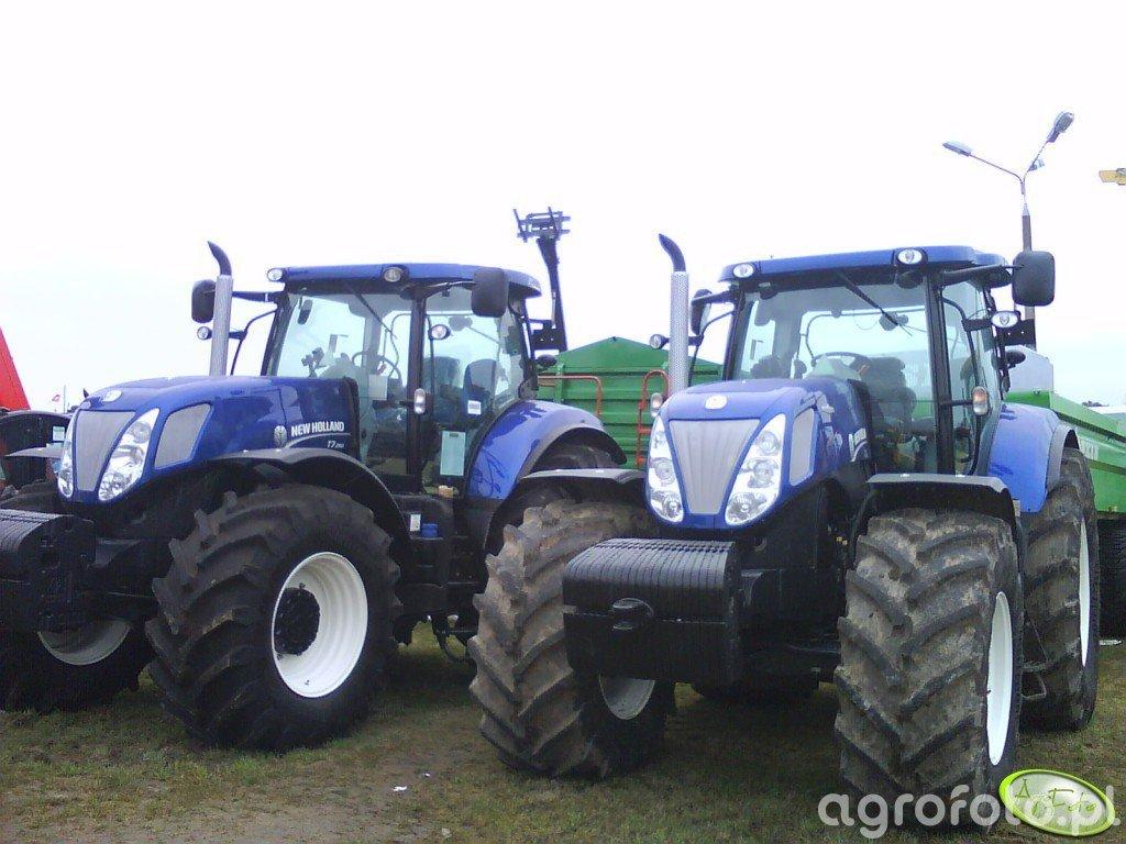 2x New Holland Blue Power