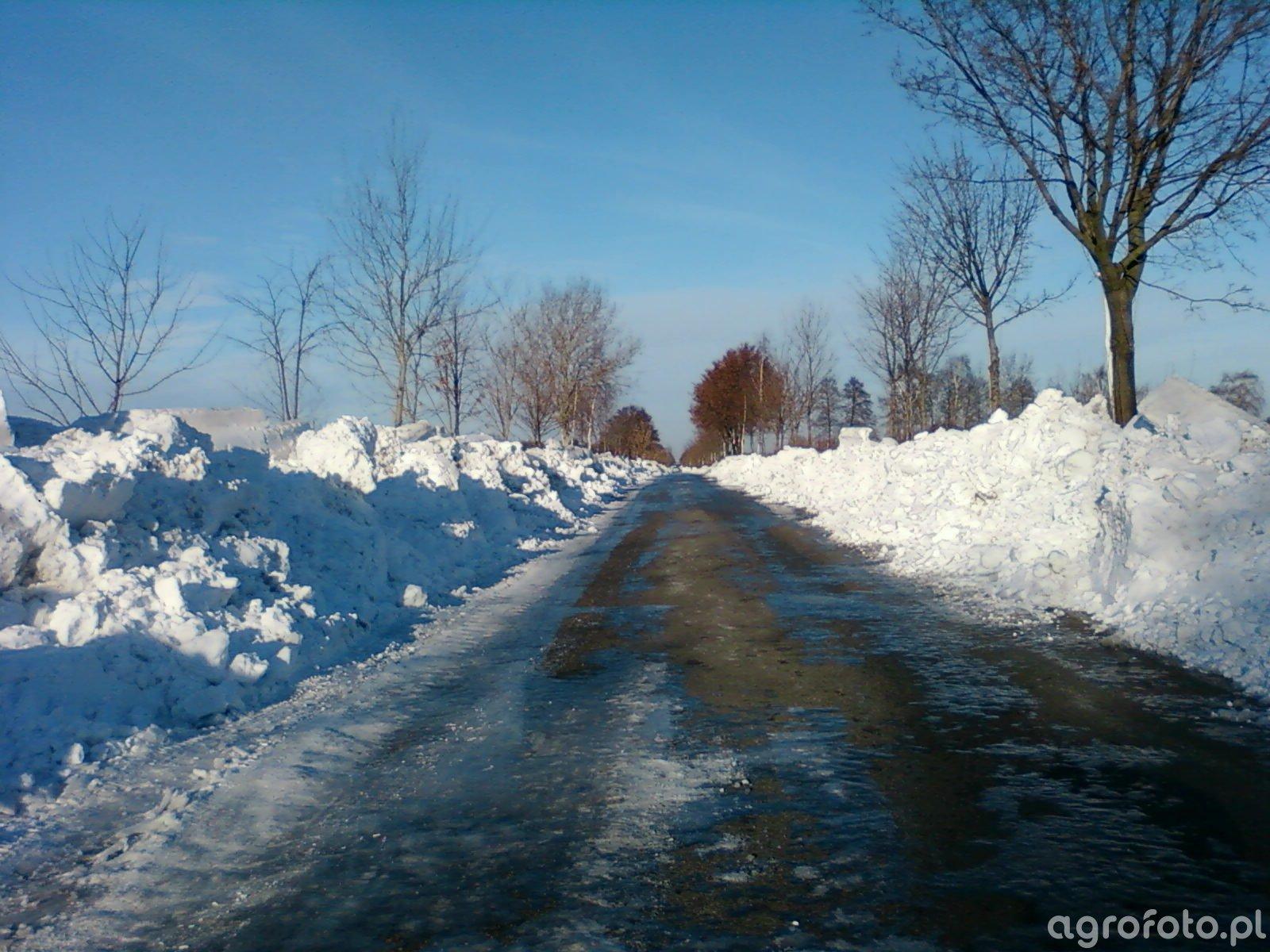 Droga dziś po Ksawerym po okolicznych wioskach