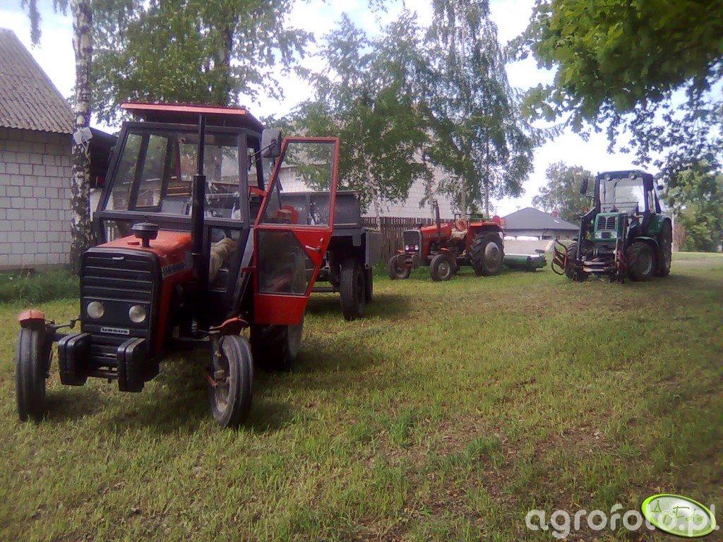 Ursus 3512, MF 255, Belarus 820