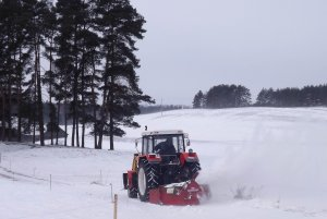 Zetor 9245 + dmuchawa do śniegu Nokka