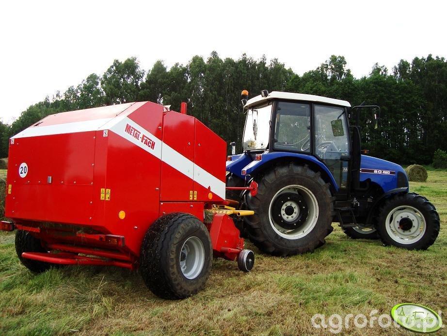 Farmtrac 80 4 WD + Sokółka