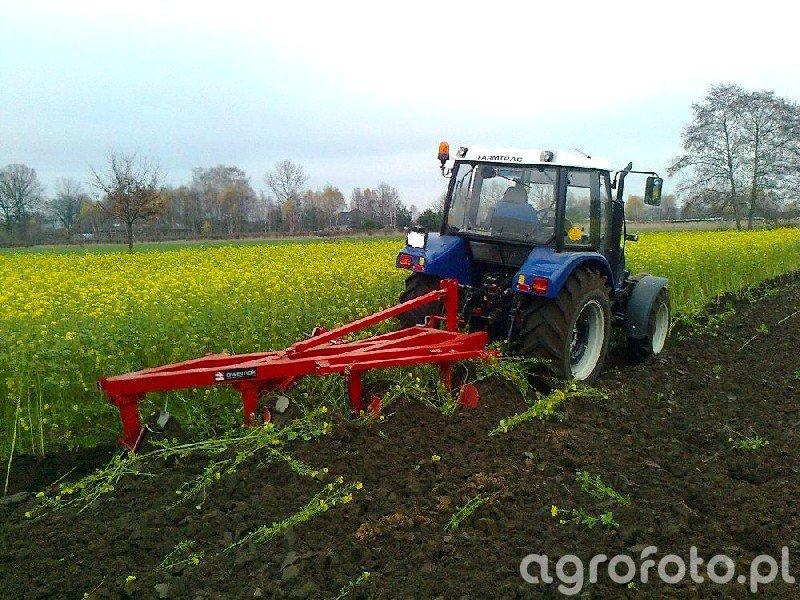 Farmtrac 675DT + Awemak 4x40