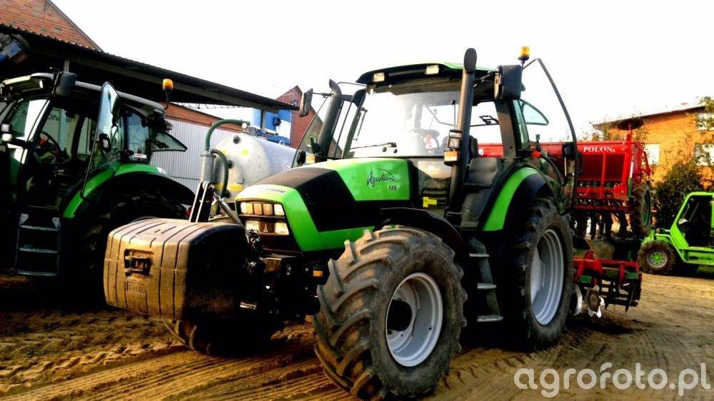 Deutz-Fahr Agrotron 150 & Unia Ares TL300 +Polonez 3m