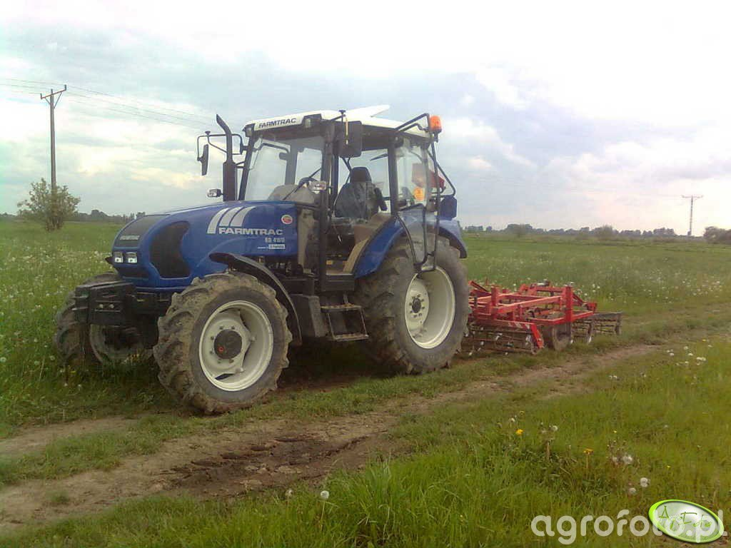Farmtrac 80 4 WD & Agro-Factory