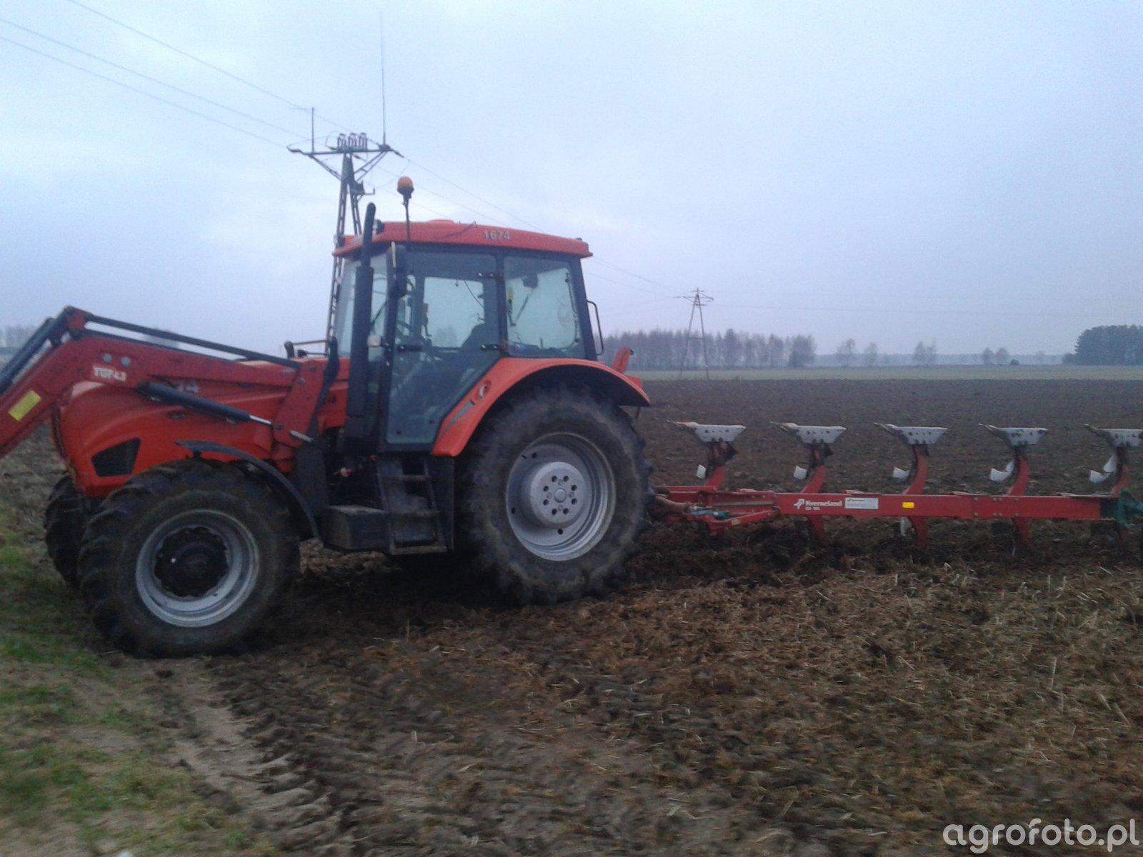 Ursus 1674 & Kverneland ED100