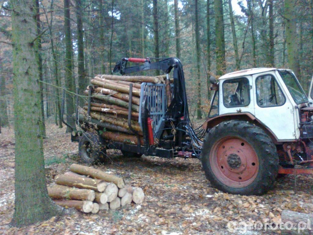 Przyczepa leśna