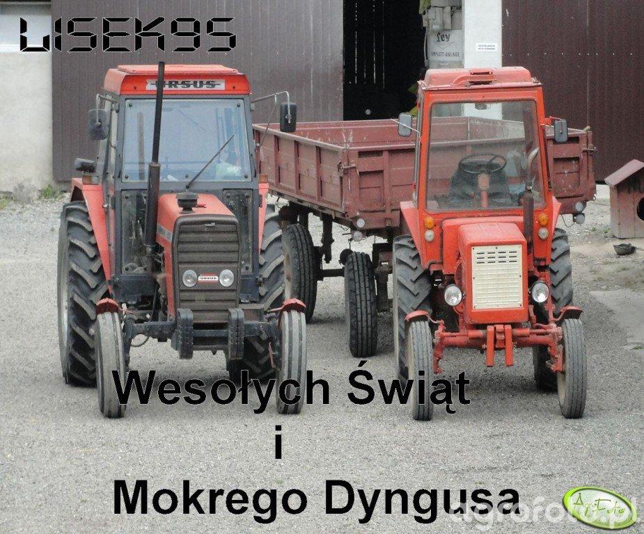Ursus 4512 & T-25+Ruska